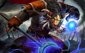 Picture lightning, wow, world of warcraft, Tauren, Horde, tauren, Horde
