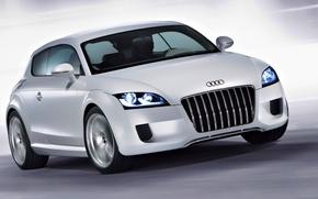 Picture Audi, Grey, Car