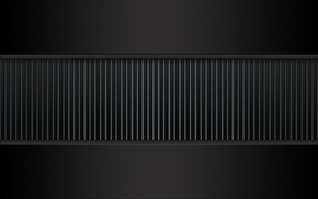 Picture grille, carbon, gray, mezzanine
