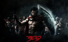 Wallpaper look, rain, king, warrior, 300 Spartans, Sparta, shield, Leonid