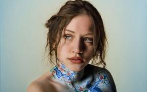 Picture girl, art, Marco Grassi