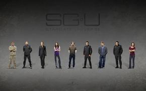 Picture The series, actors, Movies, SGU Stargate Universe, Stargate universe