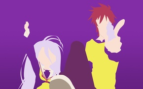 Picture anime, anime, brother, sister, no game no life, ngnl