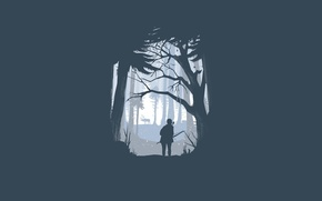 Picture people, minimalism, deer, bow, The Last of Us, Naughty Dog, Some of us, Sony Computer …