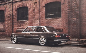 Picture BMW, coupe, BMW, black, The 3 series, E21