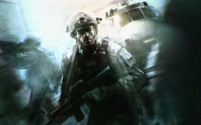 Picture soldiers, Call of Duty, special forces, Modern Warfare 3