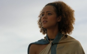Picture actress, curls, Game Of Thrones, Game of Thrones, Nathalie Emmanuel, Nathalie Emmanuel, Missandei