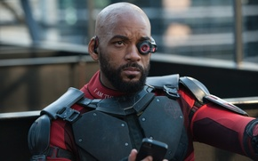 Picture fiction, costume, action, Will Smith, Will Smith, Deadshot, Suicide Squad, Suicide squad