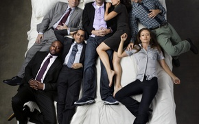 Wallpaper Robert Sean Leonard, Lisa Edelstein, Jesse Spencer, Omar Epps, house m.d., Hugh Laurie, Dr. house, ...