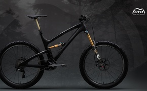 Picture bike, black, mountainbike, yeti, bicycles, foxes, the suspension, suspension