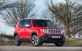 Picture jeep, SUV, Jeep, UK-spec, Limited, 2015, Renegade