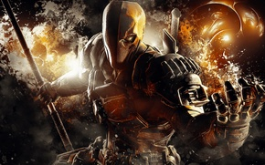 Picture Video Games, DC Comics, Warner Bros. Games Montreal, Batman: Arkham Origins, Deathstroke, Arkham Origins