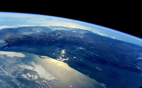 Picture space, Mexico, Earth, ISS