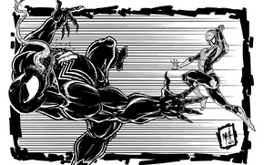 Picture Figure, Fiction, Marvel, Venom, Venom, Spider Man, Symbiote