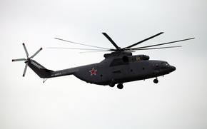 Picture helicopter, Halo, Mi-26, transport, The Russian air force, MAKS-2013