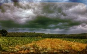 Picture road, sky, landscape, nature, cloud, background, turkey