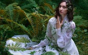 Picture dress, the bride, wedding, Primavera