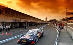 Picture machine, the sky, asphalt, machine, Audi, Audi, sport, tuning, beauty, cars, car, race, spoiler, race, …