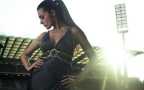 Picture girl, photographer, girl, photography, photographer, stadium, David Olkarny