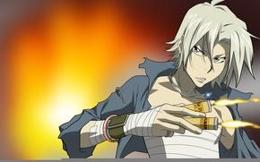Picture Hitman, fire, flame, game, anime, mafia, Reborn, assassin, asian, manga, japanese, necklace, Italian, oriental, asiatic, …