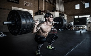 Picture Fitness, Gym, Powerlifting