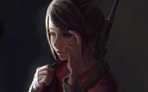 Picture art, Ellie, the last of us, Ellie