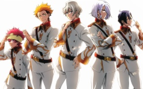 Picture white background, form, shoulder straps, straps, kakumeiki valvrave, a-drei, q-vier, h-noun, x-one, l-elf karlstein