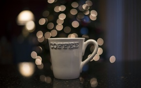 Wallpaper macro, mug, background