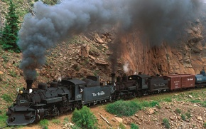 Picture Mountain, The engine, Colorado