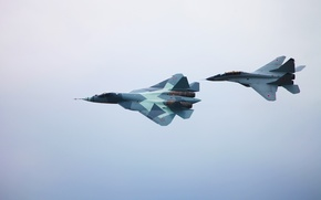 Picture T-50, T-50 and MiG-29M2, The MiG-29M2
