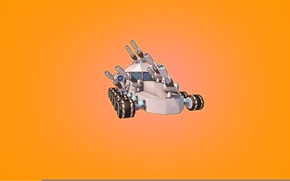 Picture Minimalism, The game, Machine, Cube, Tank, Game, Robocraft, Kraft, Robocraft