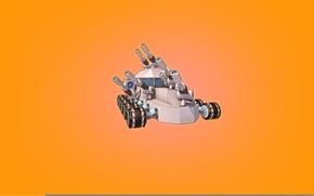 Wallpaper Minimalism, The game, Machine, Cube, Tank, Game, Robocraft, Kraft, Robocraft