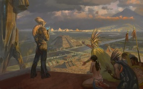 Picture picture, alien, the Indians, the Aztecs