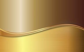 Picture metal, gold, vector, metal, plate, golden, background, steel, gradient