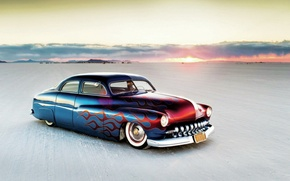 Picture hot rod, custom, Mercury