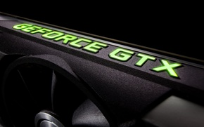 Picture logo, video card, nvidia geforce