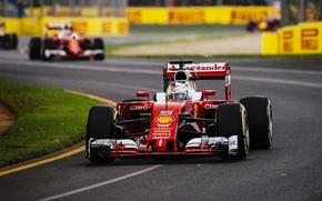 Picture Ferrari, Formula 1, Vettel, The front, SF16-H