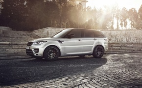Picture Land Rover, Range Rover, Sunset, Custom, Wheels, Lumma, Ligth