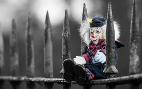 Picture background, toy, the fence