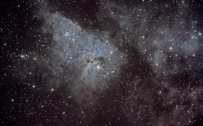 Picture space, stars, nebula, the universe