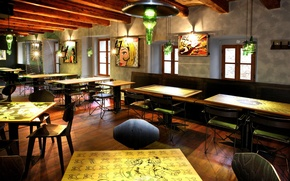 Picture design, style, interior, bar, restaurant, dining room