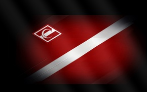 Picture strip, logo, flag, Moscow, red-white, Moscow, Spartacus, Spartak, Spartakmoskva