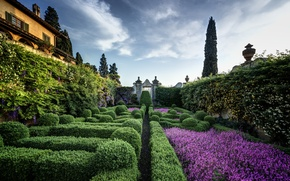 Picture garden, Italy, Florence, Italy, Florence, Villa Capponi, Arcetri, Arcetri, Villa Capponi