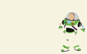 Wallpaper Toy story, Buzz Lightyear, the main character