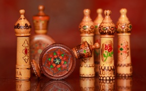Picture reflection, background, wooden, drawings-vigilance, Bulgarian, rose oil, the ETUI