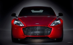 Picture Aston Martin, Red, Rapid