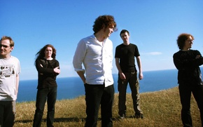 Wallpaper band, Anathema, progrock