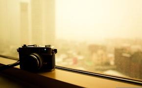 Picture photo, camera, window, the camera, canon canonet ql