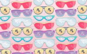 Picture star, glasses, Rockstar, glasses, rockstar