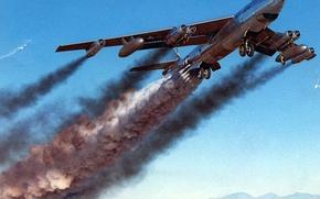 Wallpaper the plane, Boeing, B-47B